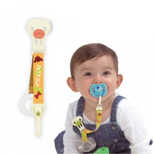Pacifier Clip With Cover Holder - Patrick