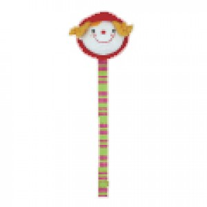 Pacifier Clip (With Soft Head) - Julia