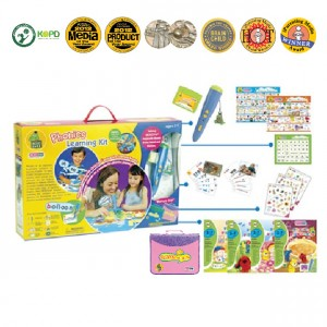 CROCOPen™ Phonics Learning Kit (Pink Case)