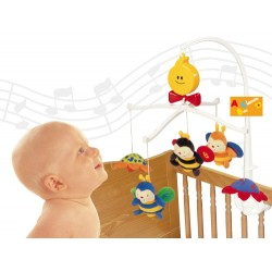 Musical Cot Mobile - Clever Bees