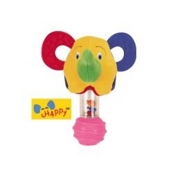 Stick Rattle - Happy Elephant