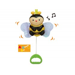 Pull N Move Musical Pals - Clever Bee