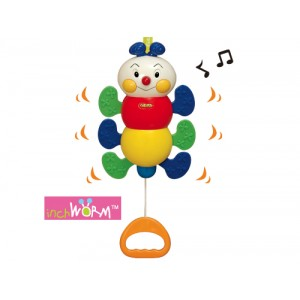 Pull N Move Musical Pals - Inchworm