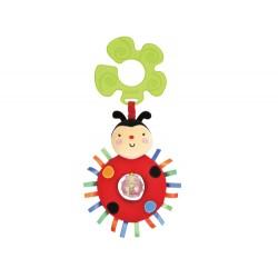 Funky Stroller Pals - Rattling Ladybug