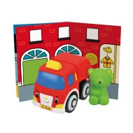 POPBO BLOCS Vehicles -  Sam Fire Engine