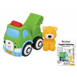 POPBO BLOCS Vehicles - Bobby Tow Truck