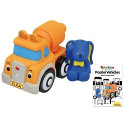 POPBO BLOCS Vehicles - Ivan Cement Truck