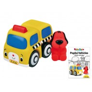 POPBO BLOCS Vehicles - Patrick School Bus