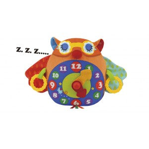 Day N Night Owl Clock