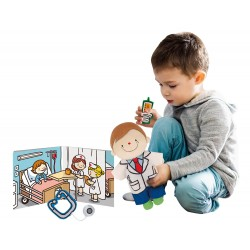 Role Play Doll Sets - Doctor and Engineer