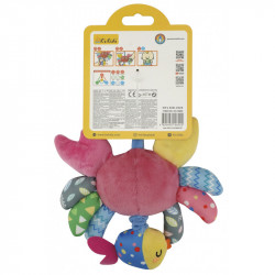 Shaking Crab Crib Toy