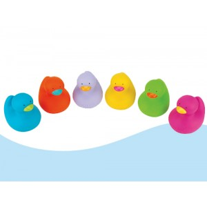 Colorful Bathing Duck (6 pcs/bag)