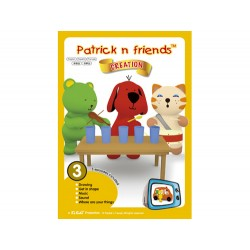 Patrick n Friends DVD Cartoon with Hand Puppet - Wayne