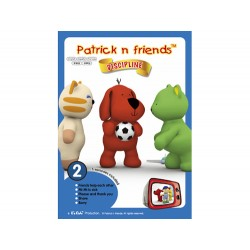 Patrick n Friends DVD Cartoon with Hand Puppet - Julia