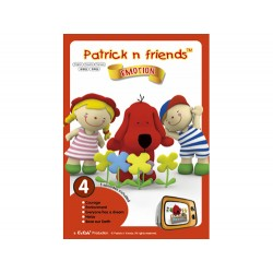Patrick n Friends DVD Cartoon with Hand Puppet - Bobby