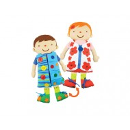 2 in 1 Dress Up Doll