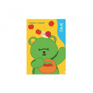 A4 Plastic Folder - Sam
