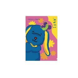 A4 Plastic Folder - Ivan