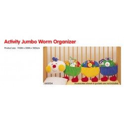 Activity Jumbo Worm Organizer
