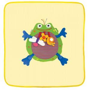 Tuck in TM Baby Fleece Blanket  - Frog